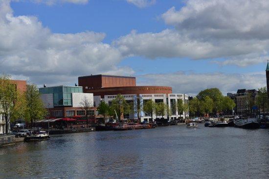 Dutch National Opera & Ballet viewed at a distance