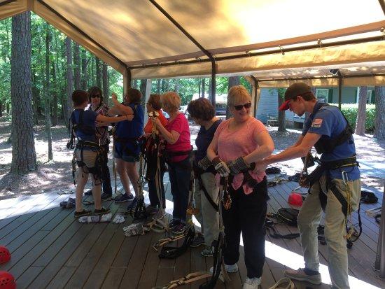 Treetop Adventure Course Half Tour Reviews