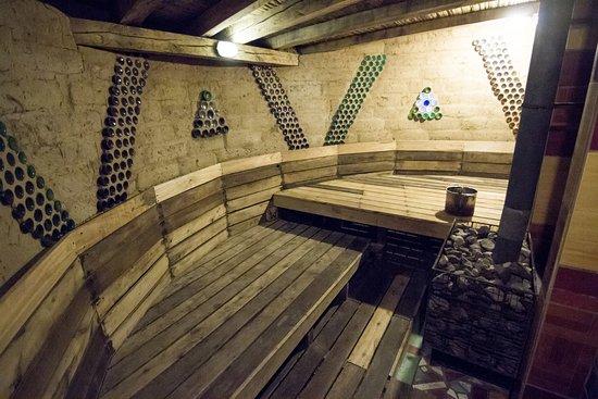 Black Sheep Inn Ecolodge: Sauna