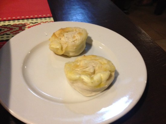 Vintage Bulgaria Restaurant & Bar : Filo pastry with cheese filling