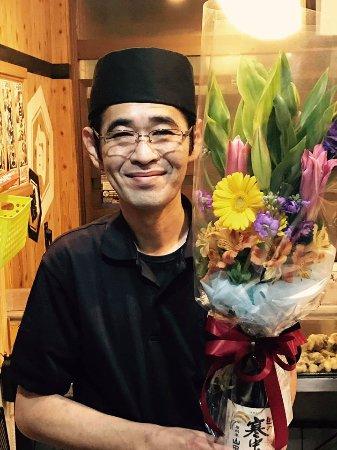 Kadena-cho, Japan: 店長誕生日おめでとう!