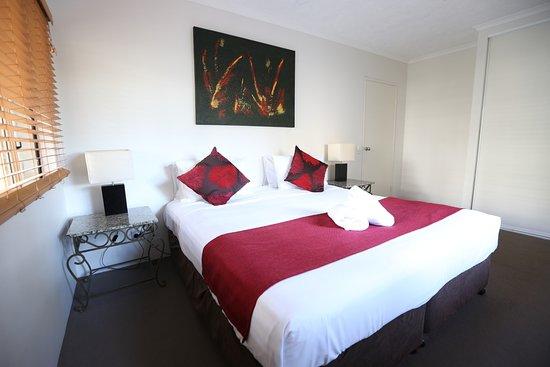 Holloways Beach, Αυστραλία: Premium Garden Apartment bedroom