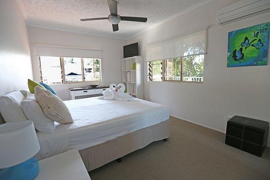 Holloways Beach, Αυστραλία: Premium Seaview bedroom