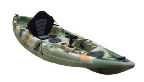 Woodgate, Australia: Fully fitted fishing kayak. Comes with rod holder, seat, bait wells and anchor