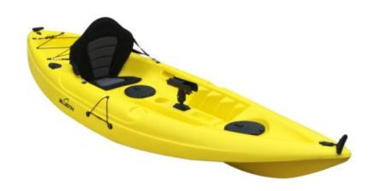 Woodgate, Австралия: Single kayaks can be fitted with fishing equipment or not.. All standard with seat, paddle and p