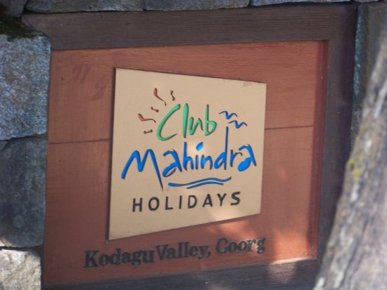 Club Mahindra Madikeri, Coorg: Enterance (Old name Kodagu Valley)