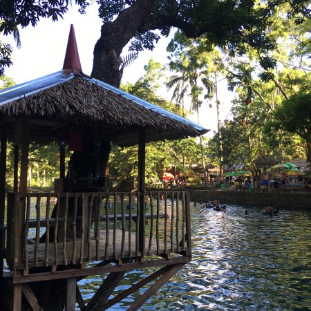 Pandan, Filipinas: the lifeguard post