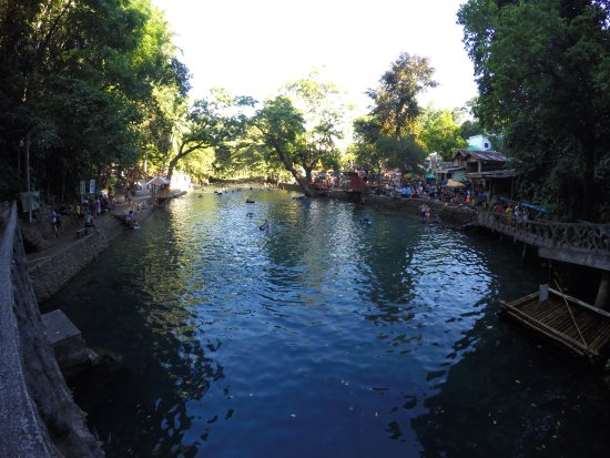Pandan, Filipinas: cold spring