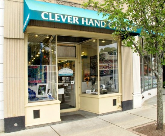 Wellesley, MA: We're a cooperative gallery of New England crafts
