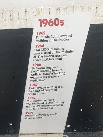 Abbey Road Studios : 1960's