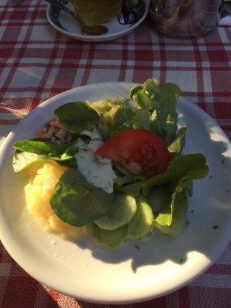 Grassau, Germania: Algunos ejemplos de la comida y la carta
