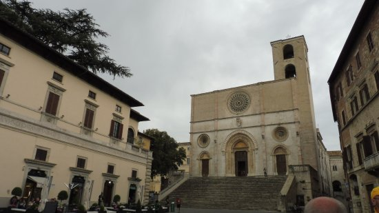 Todi, Italy: the cathedral