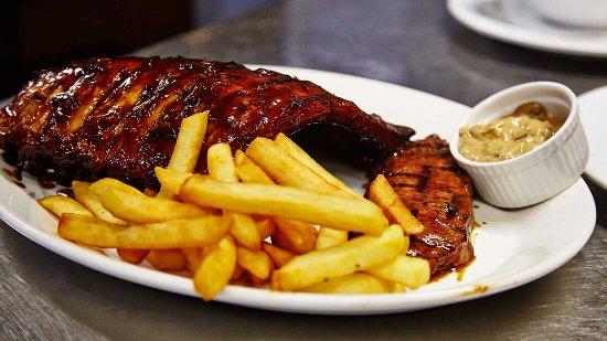 Hurricane's Grill Top Ryde Steak & Rib Combo