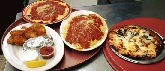 Brule, WI: Pastas and pizzas