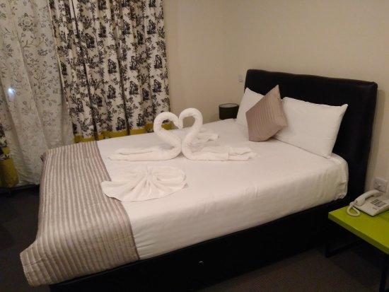 MStay Russell Court Hotel: La bienvenida.