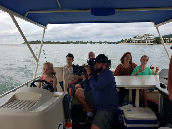 Noosaville, Australia: filming House Hunters International