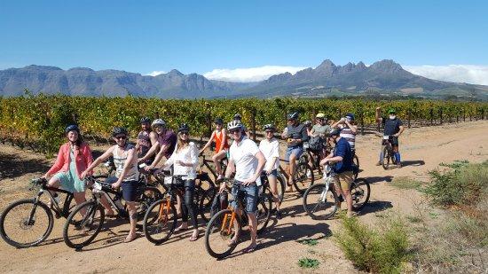 Gordon's Bay, Afrika Selatan: Winelands cycling