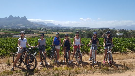 Gordon's Bay, África do Sul: Helderberg cycling