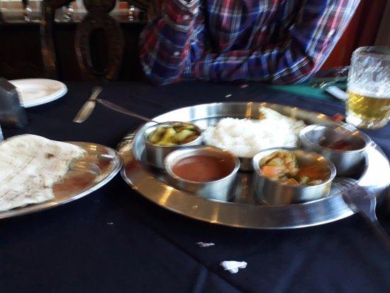Chula Restaurant: veg thali