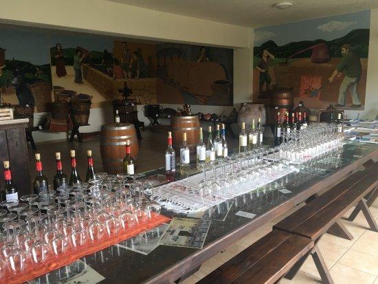 Drapanias, Grecia: Wspaniałe miejsce. Wstęp bezpłatny. Możesz degustować wino, oliwę a pózniej zakupić lokalne prod