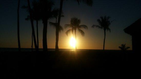 Paradise Cove Luau: sunset