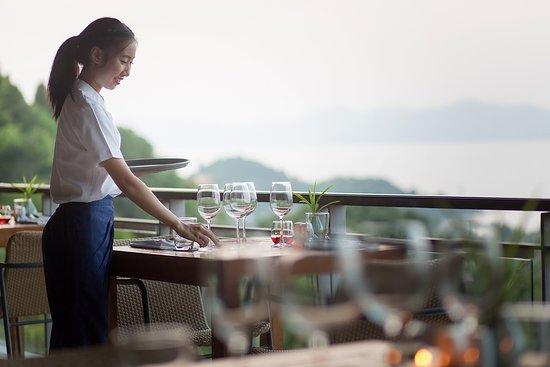 Mantra Samui Resort: the View restaurant