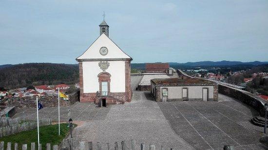 Citadel of Bitche : Kapelle in der Zitadelle von Bitche