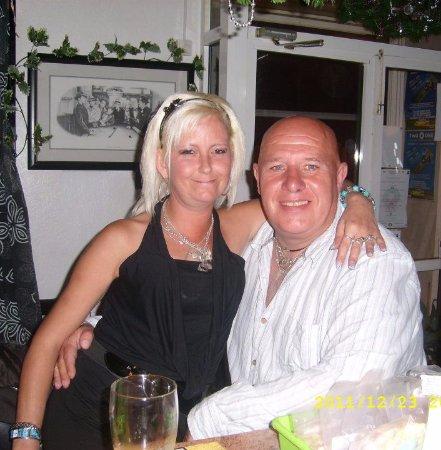 Louth, UK: me and me juile