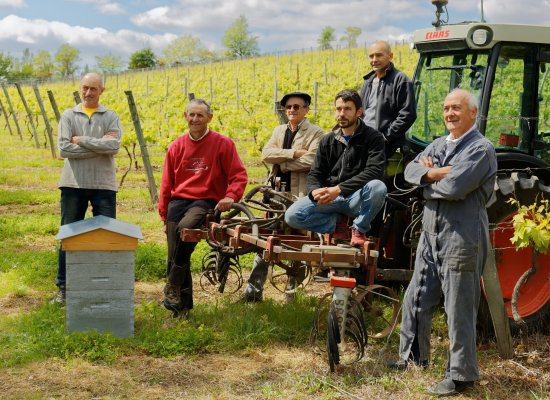 Layrac, France: Des vignerons passionés