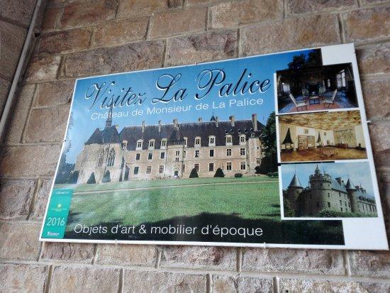 Lapalisse, Frankrig: restaurant sous le chateau de La Palisse