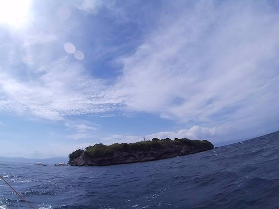 Pescador Island in sight