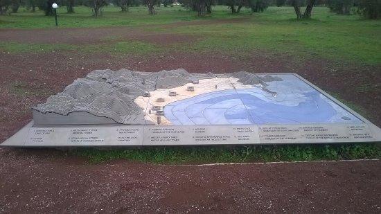 Μαραθώνας, Ελλάδα: The archaeological site of Marathona