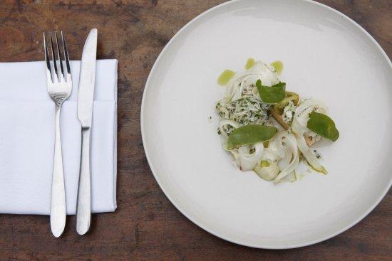 Newport -Trefdraeth, UK: Local crab salad