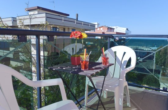 Hotel Iride: Vista mare