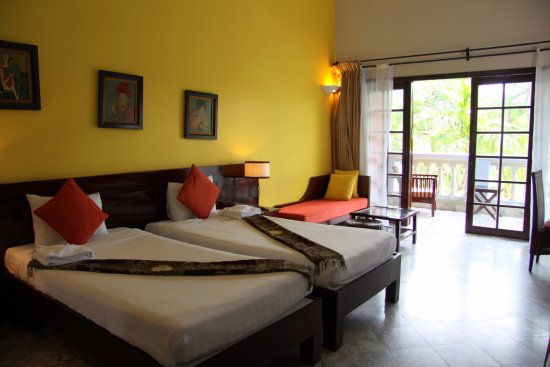 le belhamy resort & spa: prostorný pokoj