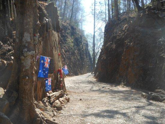 Hellfire Pass, il Konyu Cutting - Picture of Hellfire Pass ...