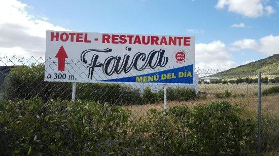 Provincia de Badajoz, España: HOTEL RESTAURANTE FAICA