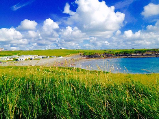 Lahinch, Ireland: one of our dive sites