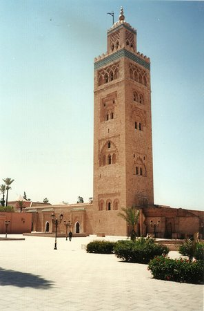 koutoubia minaret and mosque marrakech picture of. Black Bedroom Furniture Sets. Home Design Ideas
