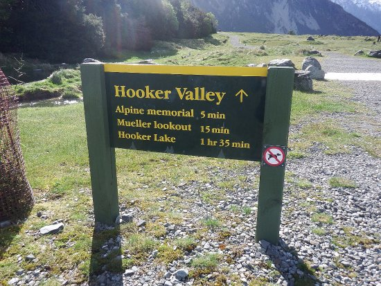 Aoraki Mount Cook National Park (Te Wahipounamu), New Zealand: Time needed for the walk