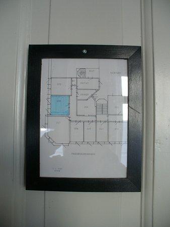 Hotel Windsor - план 2 этажа