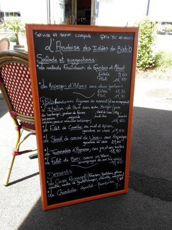 Altkirch, Francia: les menus