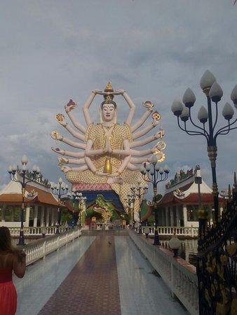 Wat Plai Laem: Deusa Guany
