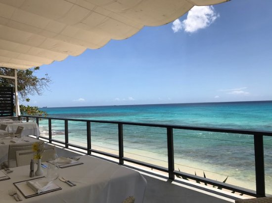 Prospect, Barbados: Lunch time view