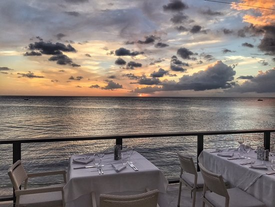 Prospect, Barbados: Dinner view