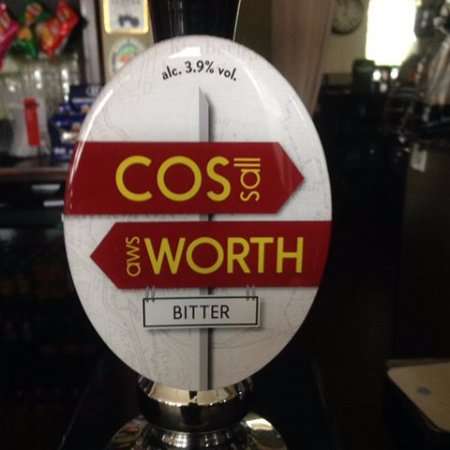 Cossall, UK: Our own house bitter