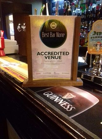 Cossall, UK: We've been accredited as a Best Bar None venue