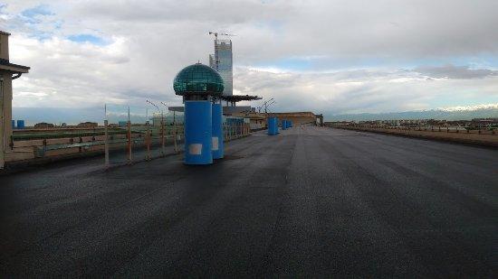 NH Torino Lingotto Congress: Test track on roof
