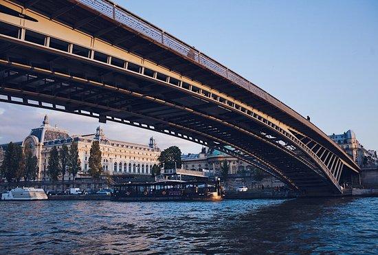 Green River Cruises : Vue de la passerelle Senghor
