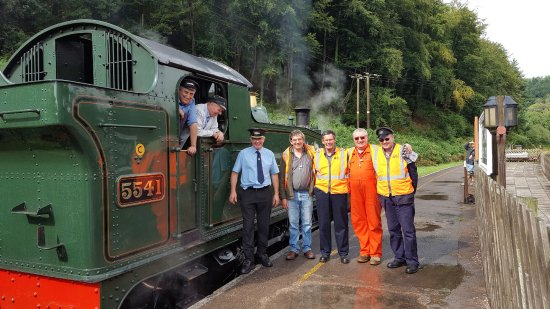 Forest of Dean, UK: Driver Experience Day Dean Forest Railway